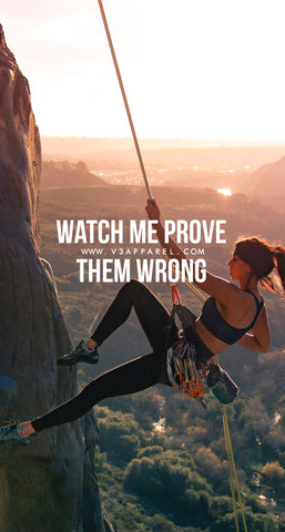Watch me prove them wrong