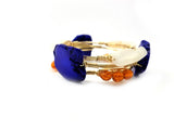 University of Florida gator GameDay set of 3 bangle bracelets, Florida bracelets, University of Florida jewelry, UF gator  bracelets