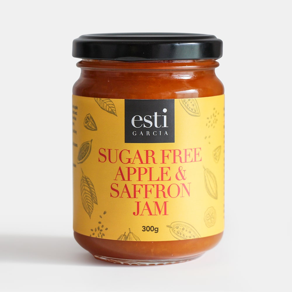 Sugar Free Apple & Saffron Jam 300g