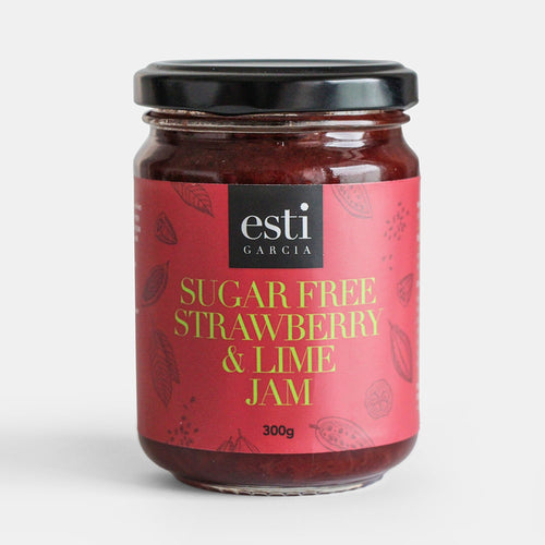 Sugar Free Strawberry & Lime Jam 300g
