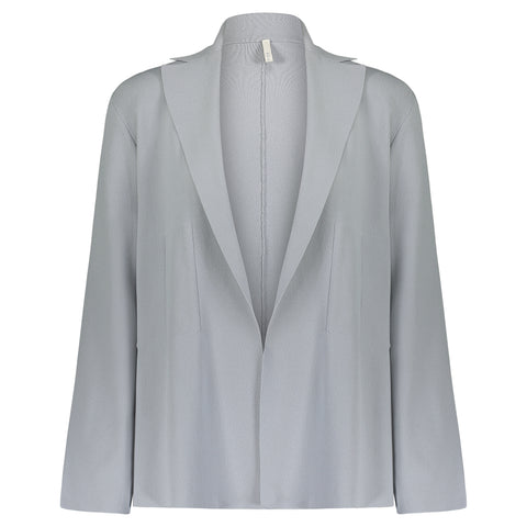 Boboutic Gray Open Jacket