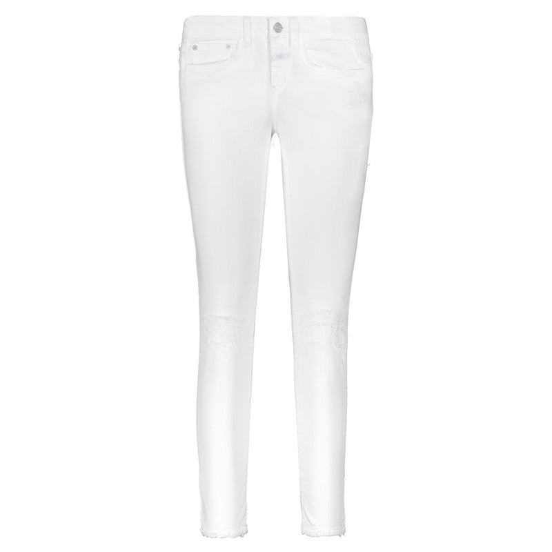 Closed Baker Slim Fit Mid Waist White Jean