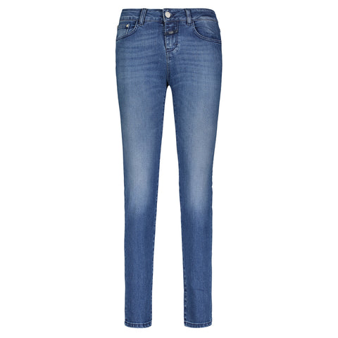 Care Label Med Blue Jean