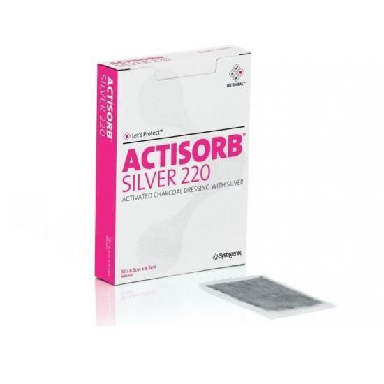 Actisorb Plus 25 Charcoal/Silver Dressing - Medsales