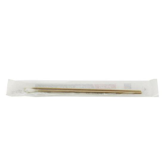 Cotton Tip Applicator 15cm Wooden Single-End - Medsales