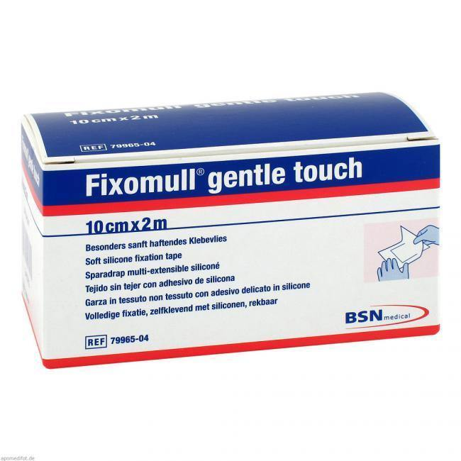 Fixomull Gentle Touch 10cm x 2m - Each - Medsales