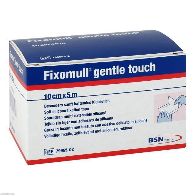 Fixomull Gentle Touch 10cm x 5m - Each - Medsales
