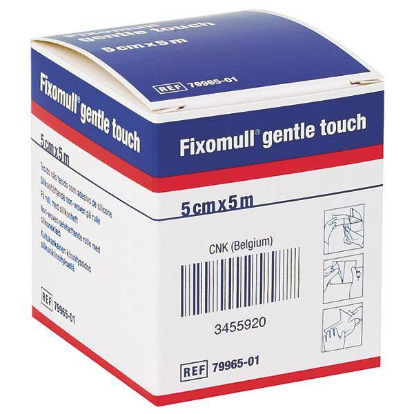 Fixomull Gentle Touch 5cm x 5m - Each - Medsales