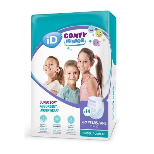 ID Comfy Junior Pants 4-7 Years - Carton 56 - Medsales