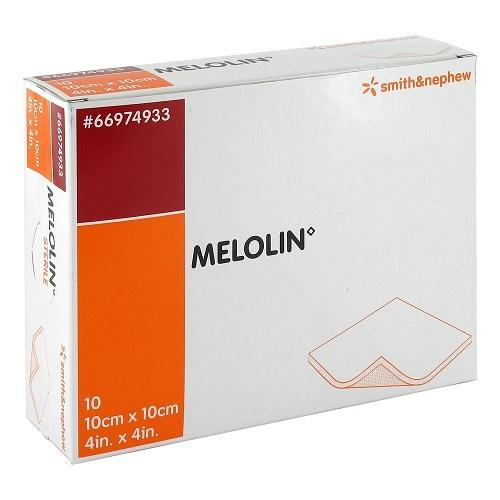 Melolin 10x10cm Low-Adherent Dressing - Each - Medsales