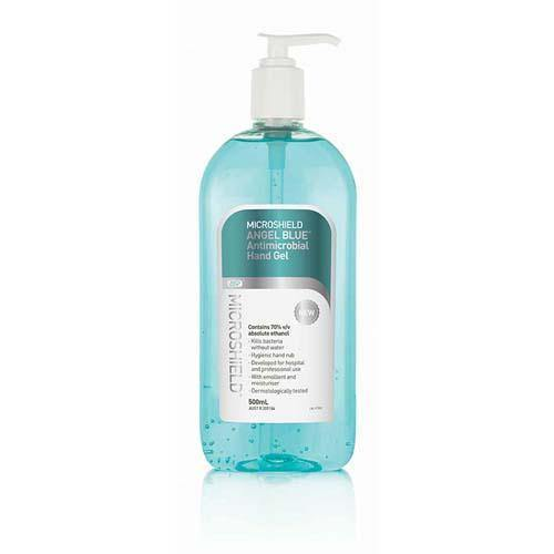 Microshield Angel Blue Hand Gel 500ml - Medsales
