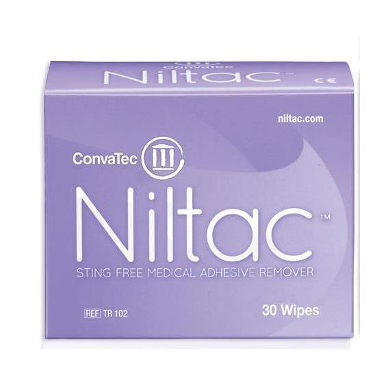 Niltac Wipe - Pkt 30 Large Wipes - Medsales