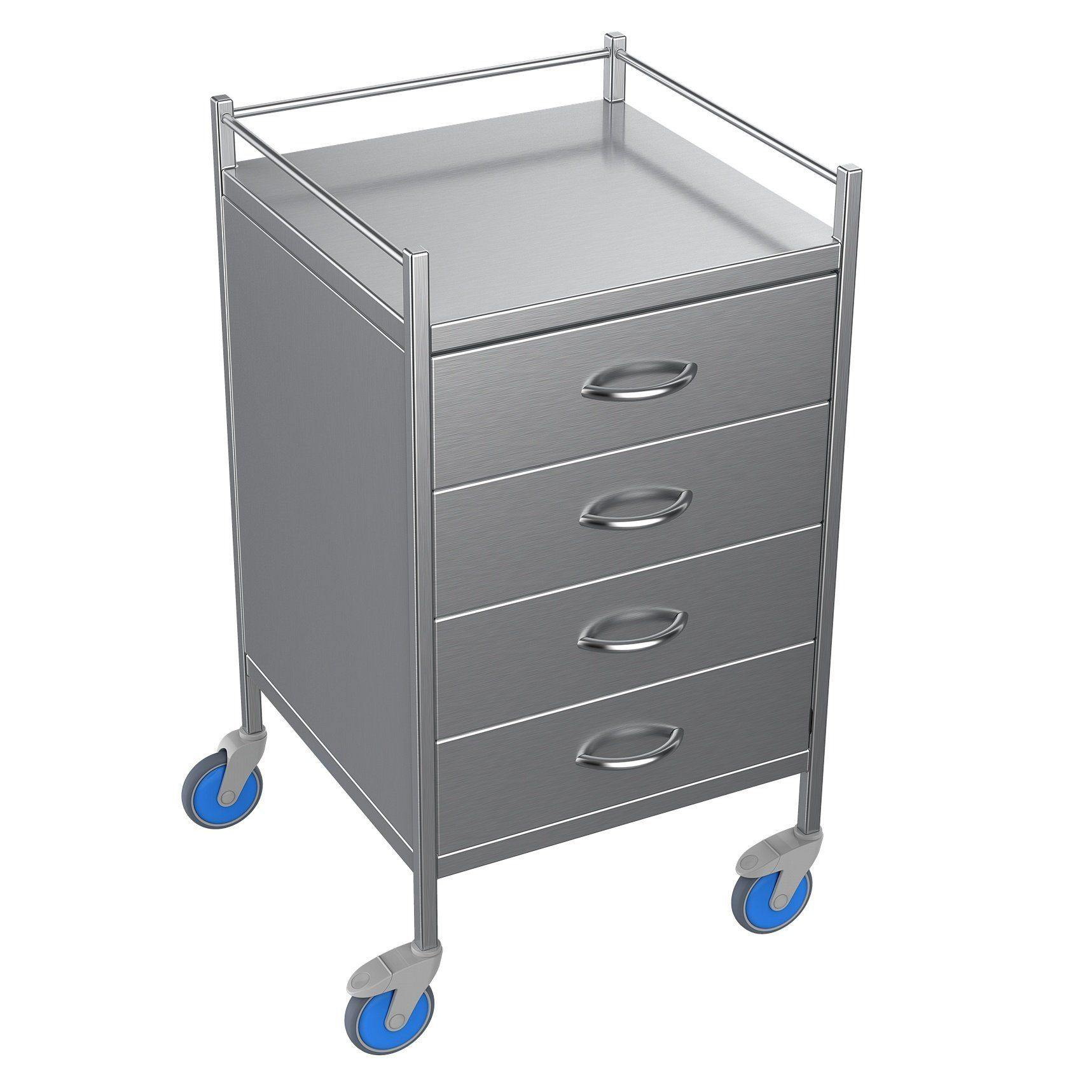 Nimble Anaesthetic Trolley 4 Drawers - Medsales