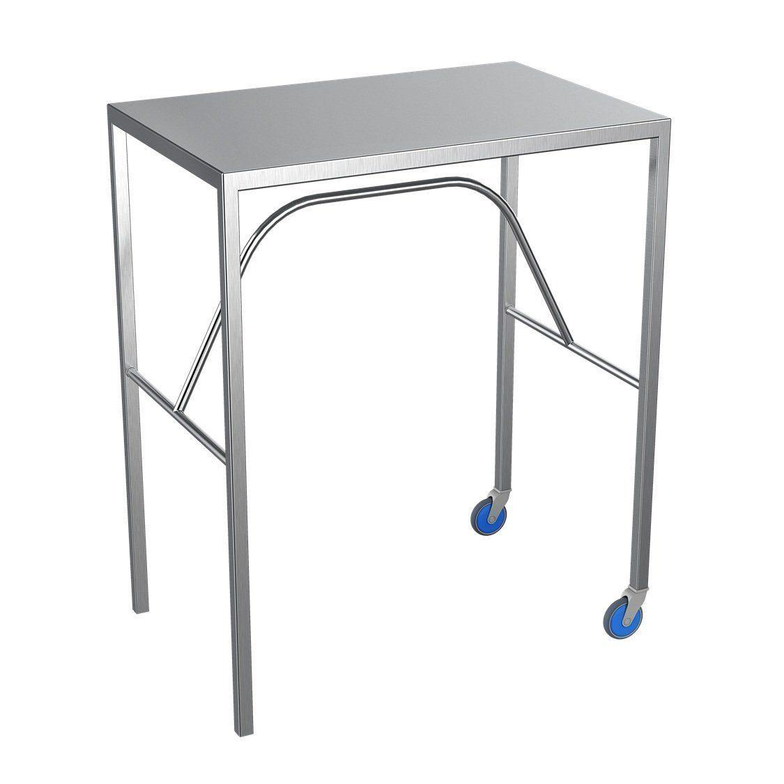 Nimble Arm Table Fixed Height 760x450x800mm - Medsales