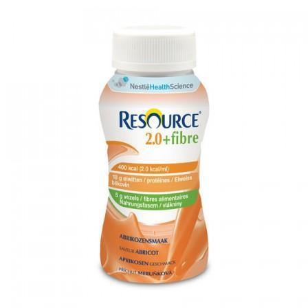 Resource 2.0 Fibre Apricot 200ml Bottle Ctn 24 - Medsales