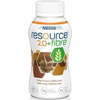 Resource 2.0 Fibre Coffee 200ml Bottle Ctn 24 - Medsales