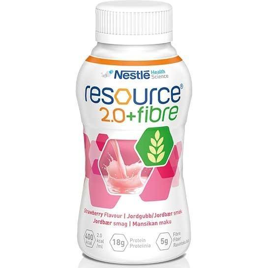 Resource 2.0 Fibre Strawberry 200ml Ctn 24 - Medsales