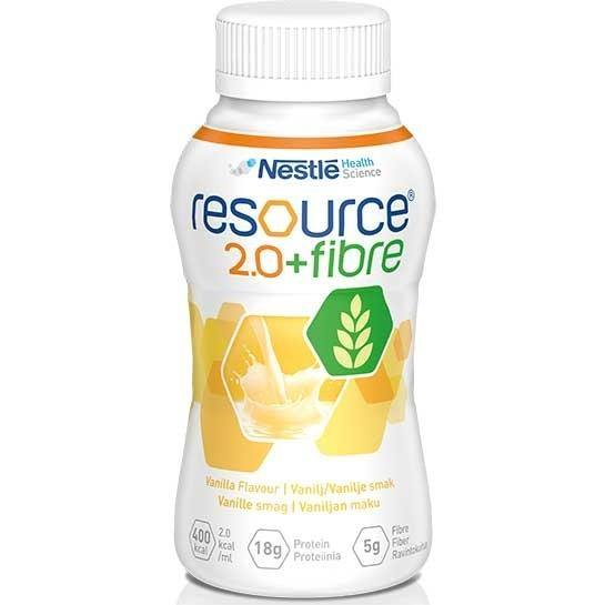 Resource 2.0 Fibre Vanilla 200ml Ctn 24 - Medsales