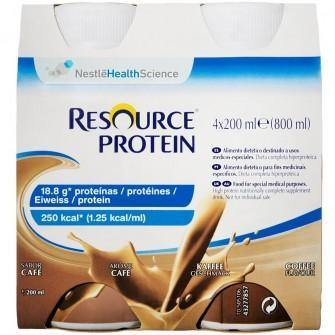 Resource Protein Coffee 200ml Bottle Ctn 24 - Medsales