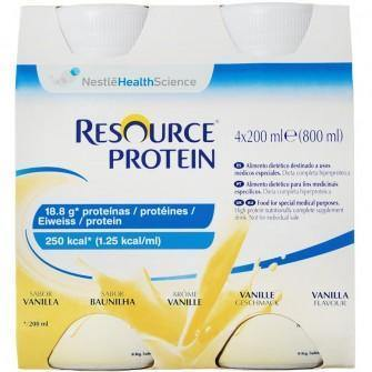 Resource Protein Vanilla 200ml Bottle Ctn 24 - Medsales