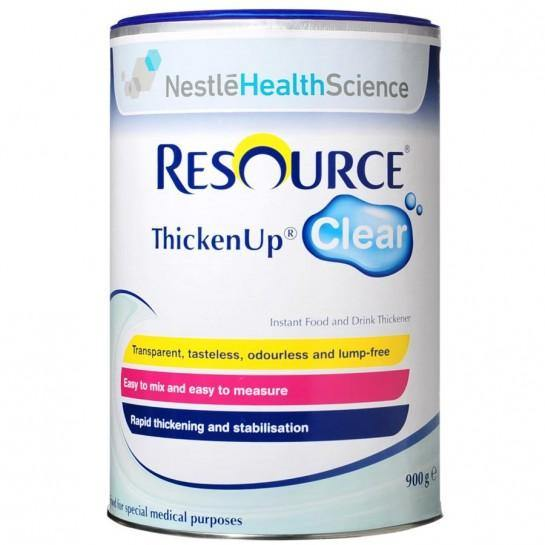 Resource Thicken Up Clear 900g Box 6 - Medsales