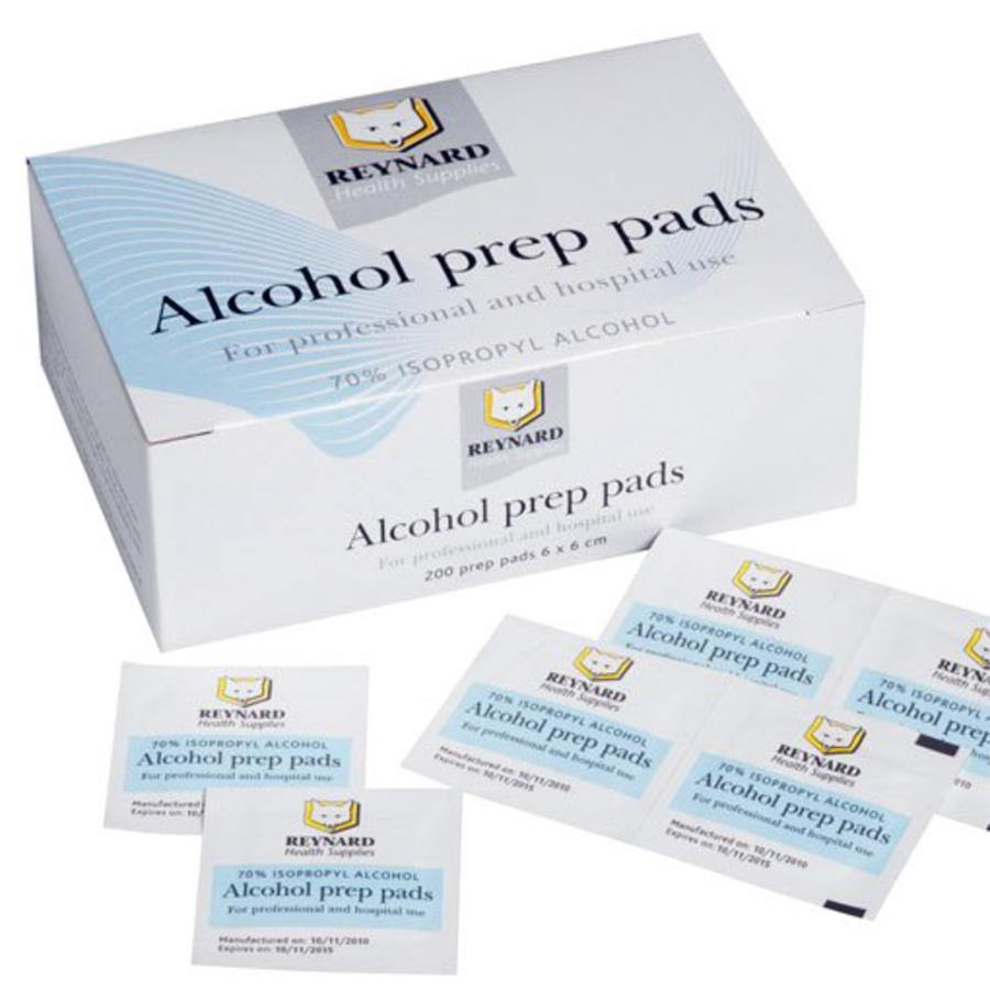 Reynard Alcohol 70% Prep Pad Wipes - Medsales