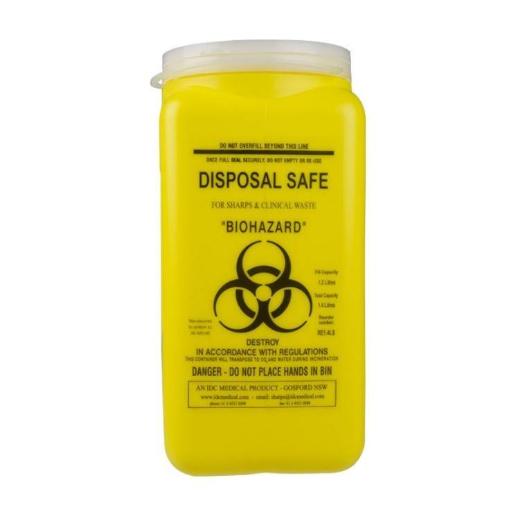 Sharps Container 0.87 L - Medsales
