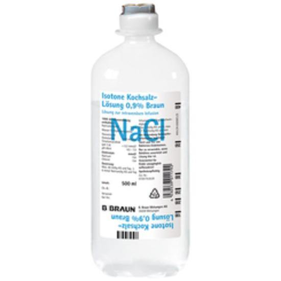 Sodium Chloride 0.9% IV Solution 500ml Ecoflac - Medsales