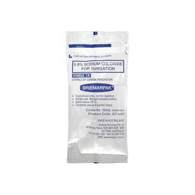 Sodium Chloride Sachet 0.9% Irrigation 30ml - Medsales