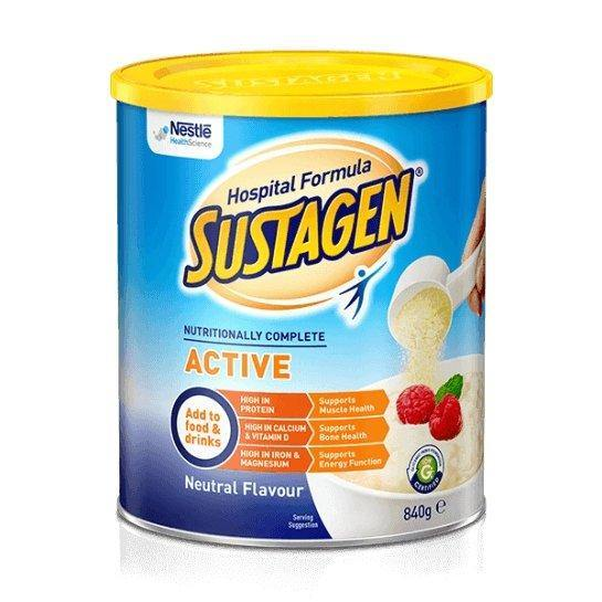 Sustagen Hospital Formula Active Neutral 840g Box6 - Medsales
