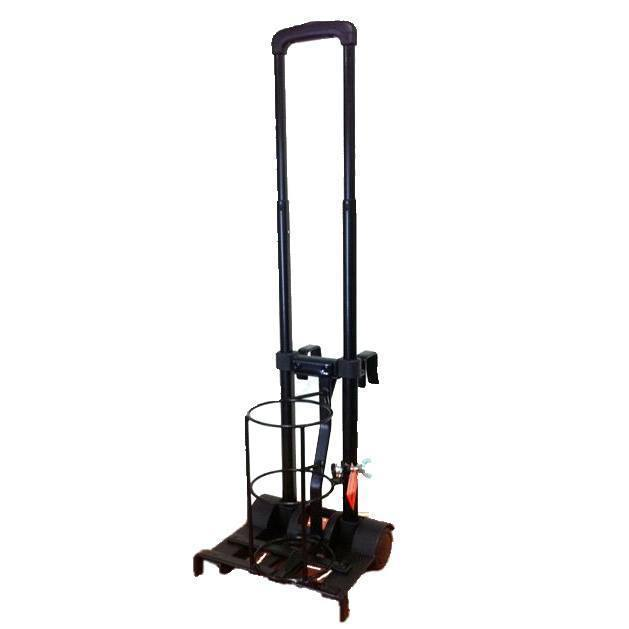 Trolley Cylinder C Size with Bed Hooks - Medsales