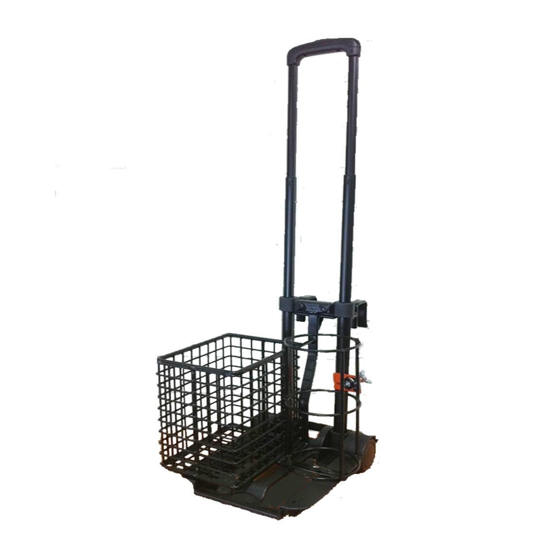 Trolley Cylinder C Size with Bed Hooks & Basket - Medsales