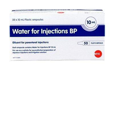Water for Injection Ampoule 10ml - Medsales