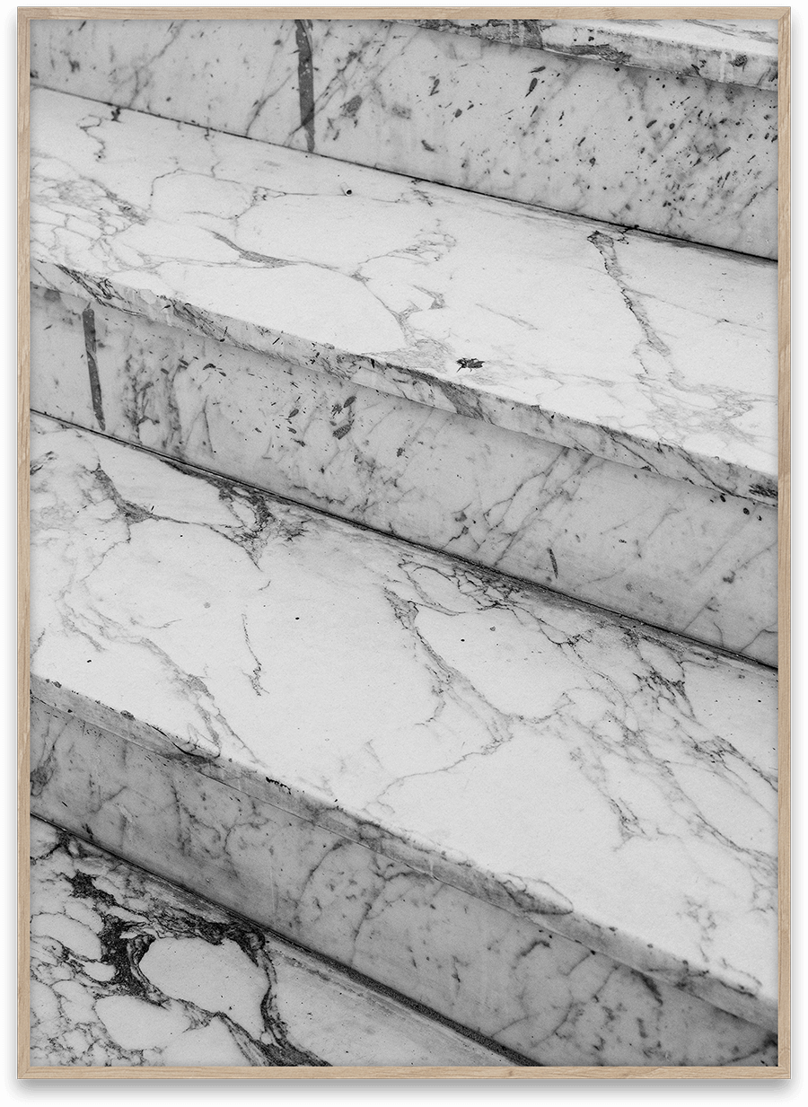 Paper Collective Art Poster - Marble Steps Norm Architects