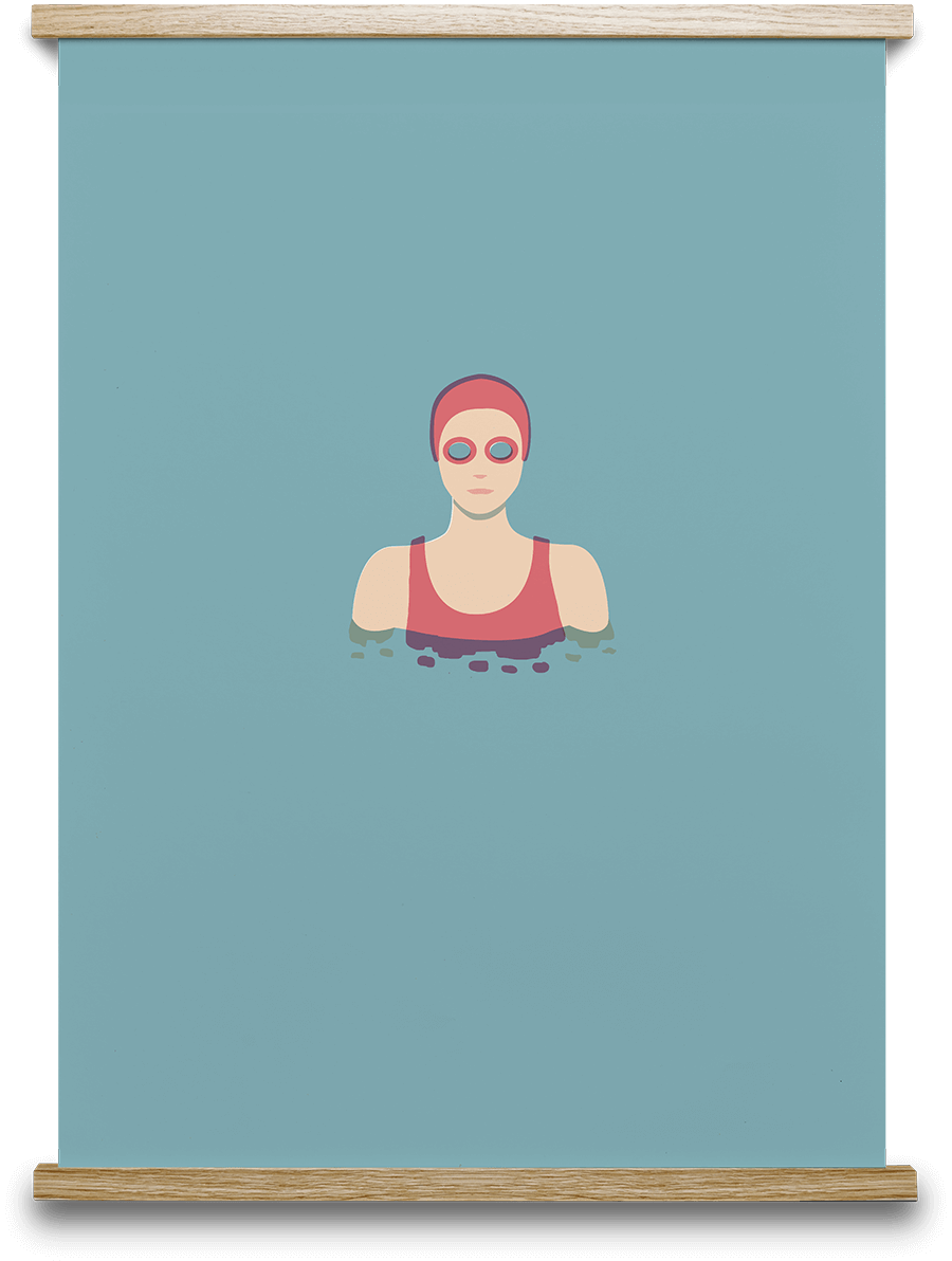 The Swimmer 02 Note