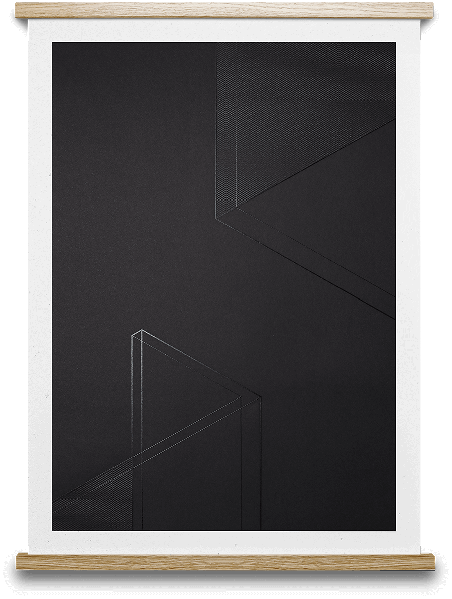 Dark Projection 01 Norm Architects 50 x 70 cm