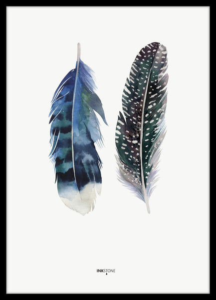 FINE ART POSTER - INDIAN FEATHER, Malerifabrikken