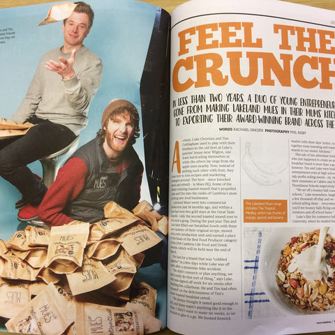 Taste Cumbria Magazine Feature - Food Producers