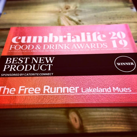 Best New Product - The Free Runner - Gluten Free - Vegan - Muesli