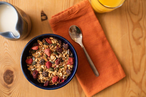 The Berry Blat - Muesli on the Breakfast Table