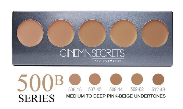 Cinema Secrets 500B Series Ultimate Foundation 5-IN-1 PRO Palette