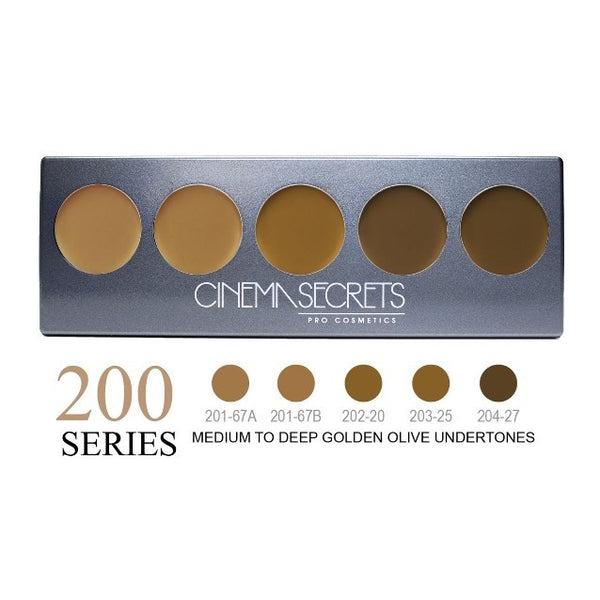 Cinema Secrets 200 Series Ultimate Foundation 5-IN-1 PRO Palette