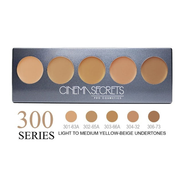 Cinema Secrets 300 Series Ultimate Foundation 5-IN-1 PRO Palette