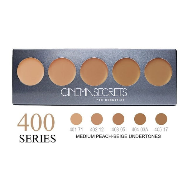 Cinema Secrets 400 Series Ultimate Foundation 5-IN-1 PRO Palette