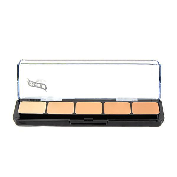 Graftobian HD Glamour Creme Palette - 5 Shades