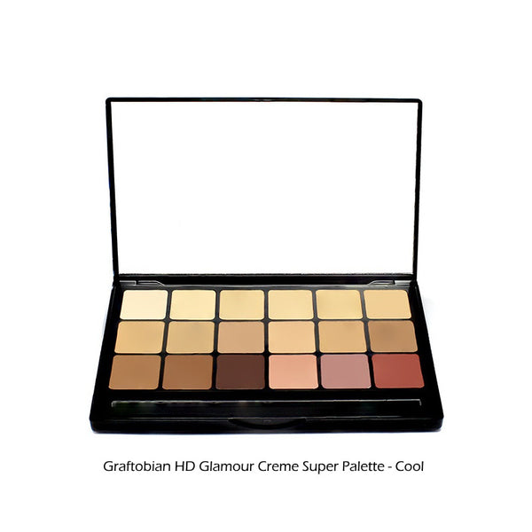 Graftobian HD Glamour Creme Foundation Super Palette