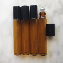 10ml Roller Ball Amber Glass Bottle - EO Accessories & Supplies - DeFuze Australia