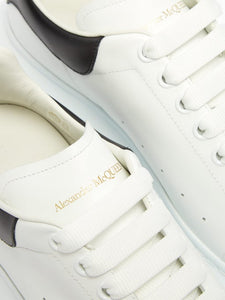 Alexander McQueen Leather Trainers - White/Black
