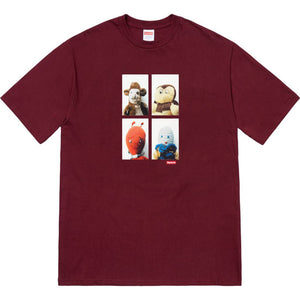 Supreme x Mike Kelley Ahh Youth! T-Shirt - Burgundy