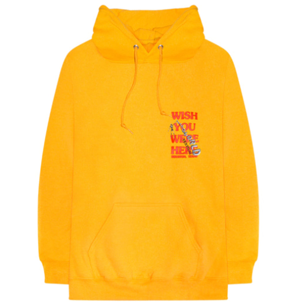 ASTROWORLD Wish You Were Here Hoodie - Yellow